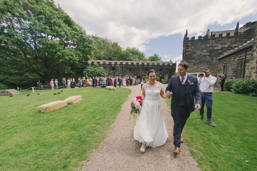 Wedding Photo at East Riddlesden Hall