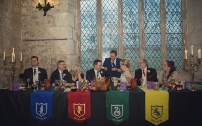 Harry Potter Wedding: Real Wedding Blog Feature