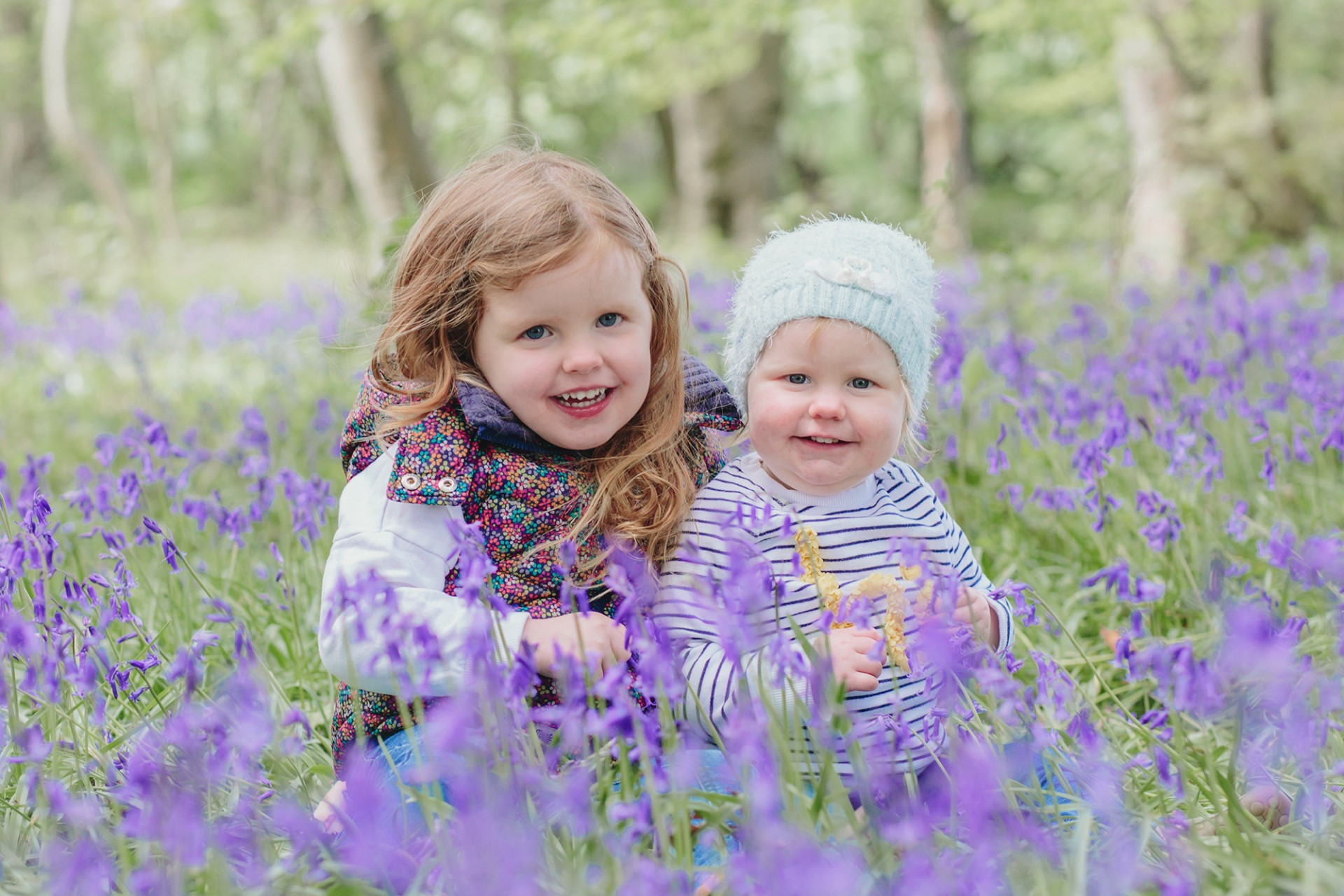 Bluebell Family Photo Yorkshire Family Photographer