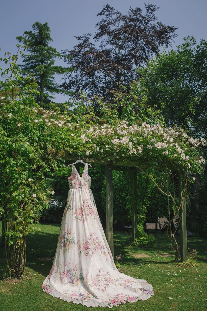 floral wedding dress charlotte balbier