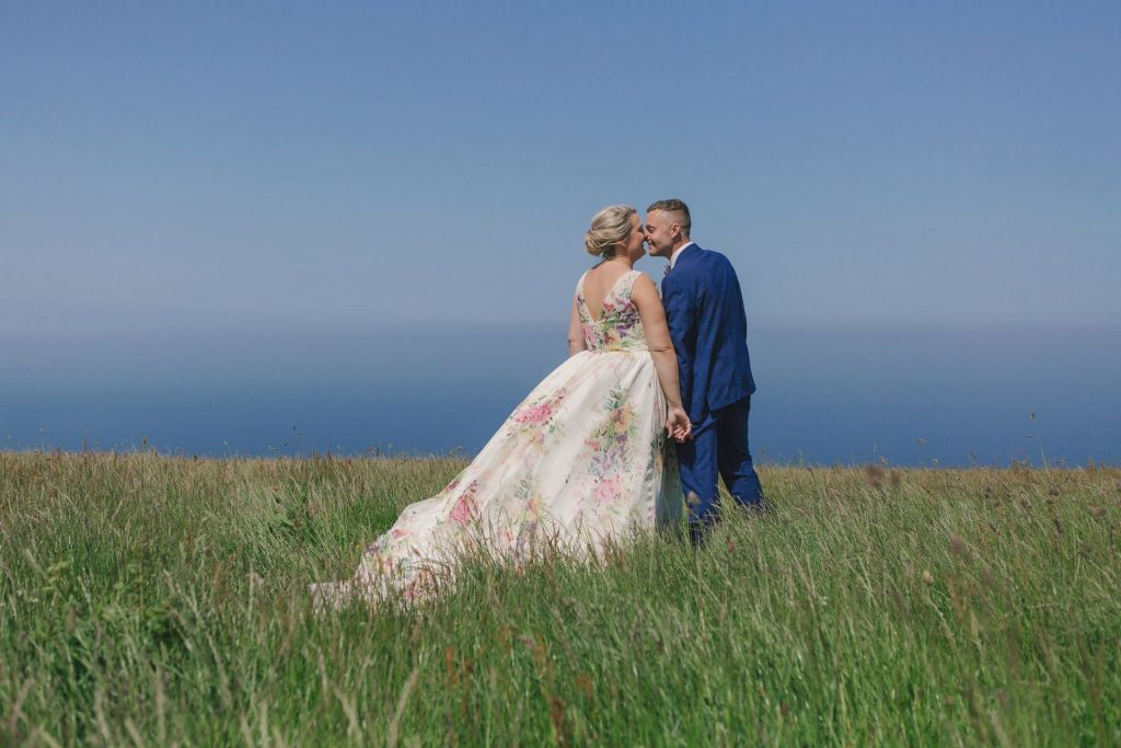 North Yorkshire Coast wedding photos