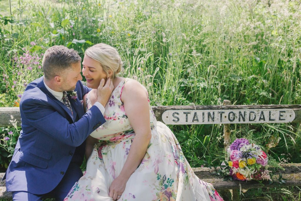 staintondale wedding photos