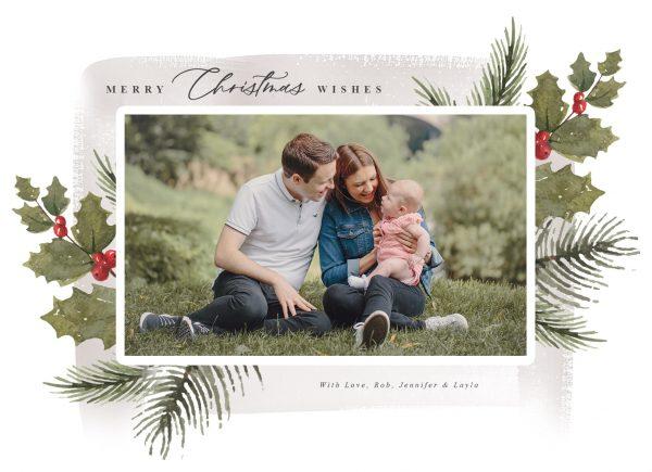 Personalised Photo Christmas Card